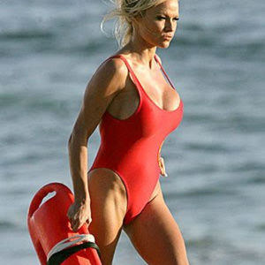 💋NWT💋BAYWATCH REVIVAL RED TANK SUIT Gottex